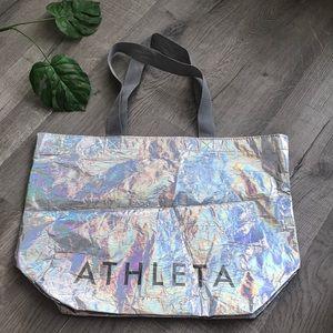 ATHLETA iridescent bag